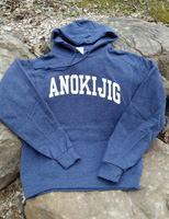 2017 Hooded Sweatshirt Heathered Navy
