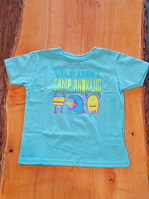 2018 Toddler T-Shirt Aqua