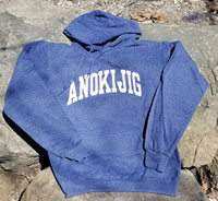 2019 Classic Hooded Sweatshirt Vintage Heather Navy